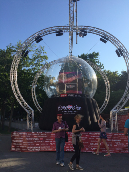 Song Contest Vienna Globe