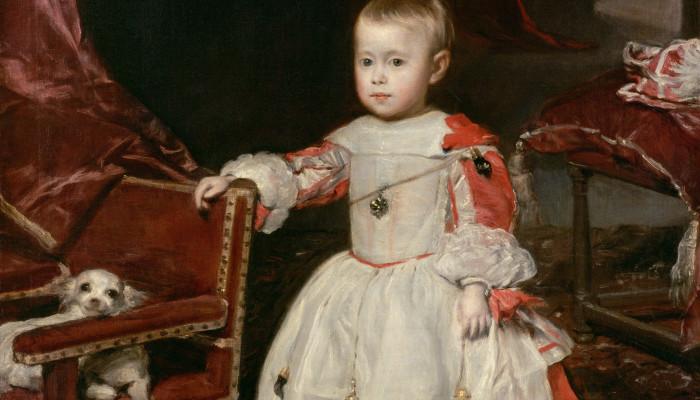 Infant Philipp Prosper (1657-1661) Diego Velázquez 1659 ©KHM mit MVK und ÖTM