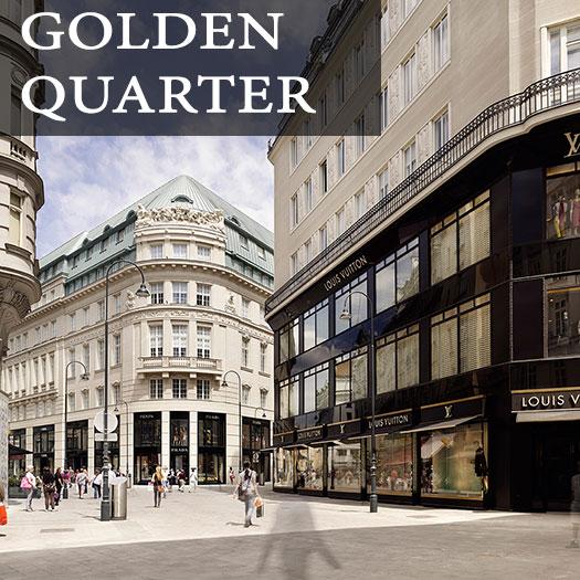 Luxury shopping in vienna all around the golden quarter for Best luxury hotels in vienna