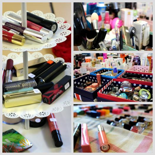 Überblick über einige Beauty-Produkte