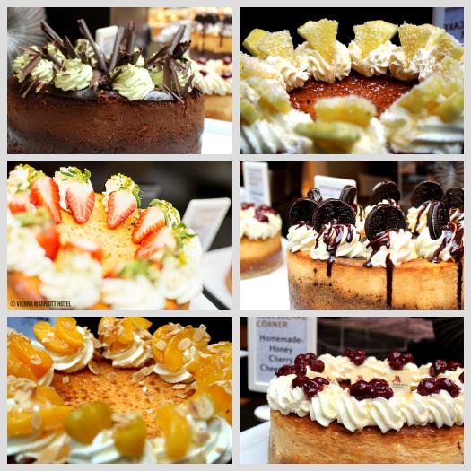 die 6 Cheesecake Sorten