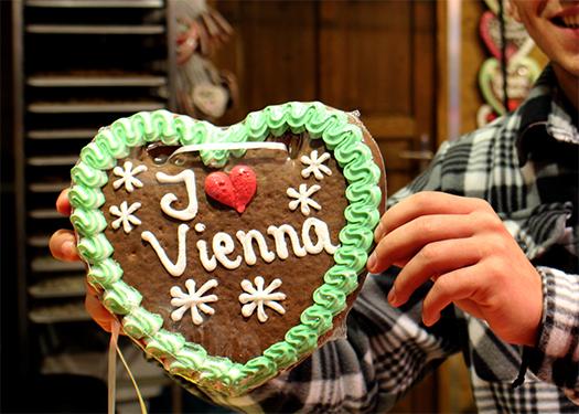 I love Vienna Lebkuchenherz