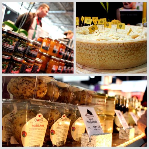 Italienische Spezialitäten wie Käse, Pesto & Trüffel