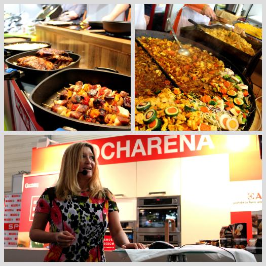 Kocharena mit Vorträgen und Show-Kochen