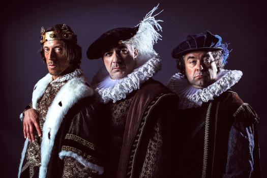 Pressefoto Richard III mit M.Pink, M.Niavarani, B.Murg (c) Jan Frankl - Verwendung honorarfrei im Kontext der Veranstaltung