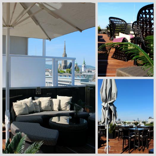 Dachterrasse Ritz Carlton