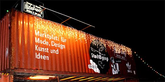 Eingang zum Stadtbiotop Wien